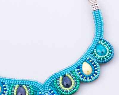 Woman Necklace, Miyuki Drop