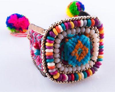 Woman Bracelet Peruvian Dream Colorful