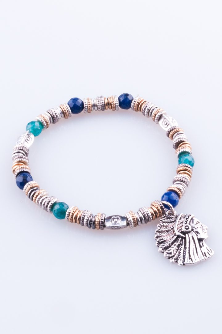 Pulseira de Mulher Indian Spirit Azul